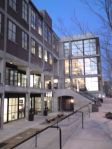 Unser neues Bürogebäude - wir sind im dritten Stock