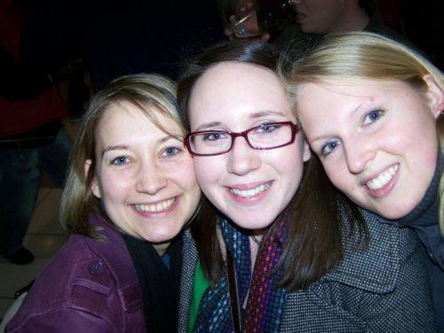 Pamela, Hannah und ich