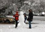 Schnee in Atlanta