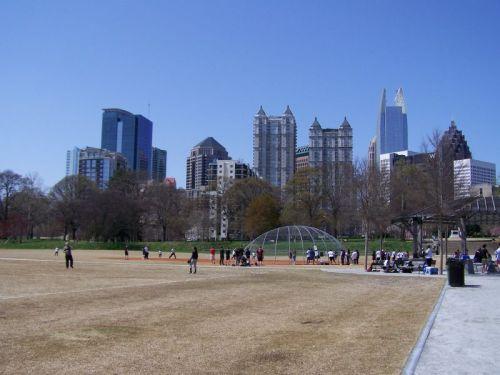 Skyline von Midtown Atlanta