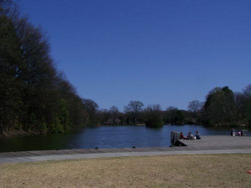 Ein Park in mitten der City