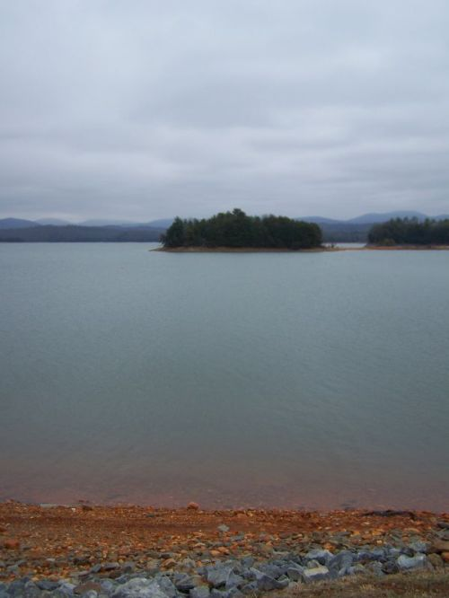 Der Blue Ridge Lake - dort hatten wir Lunch