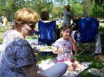 Ein Picknick im Grünen