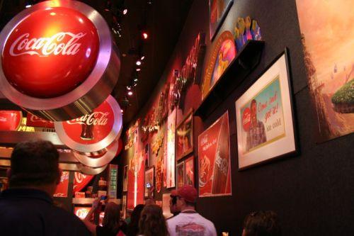 Coca-Cola, wohin man nur schaut