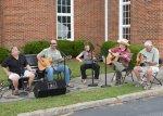 Eine Country-Band (die waren echt gut)