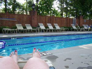 So ein Pool ist schon toll