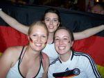 Nach dem Sieg - Fritzi, Sarah und ich