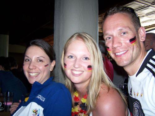 Martina, Carsten und ich
