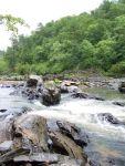 Ein reißerischer Fluss