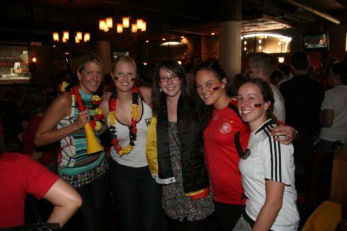 von links: Silke, ich, Hannah, Pamela, Sarah (alles Kolleginnen von mir)