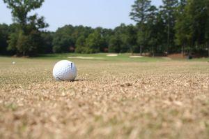 Golfball scharf