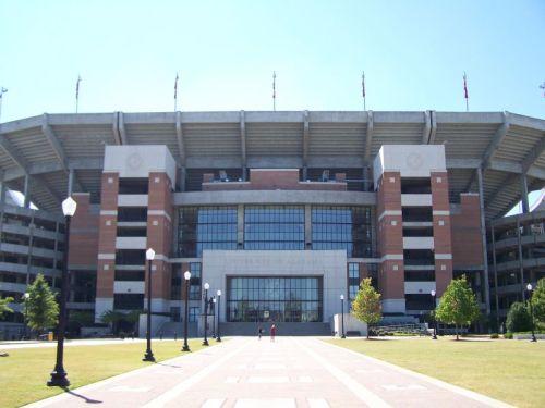 Das uni-eigene Football-Stadion