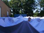 Fritzi im Meer der Zelte