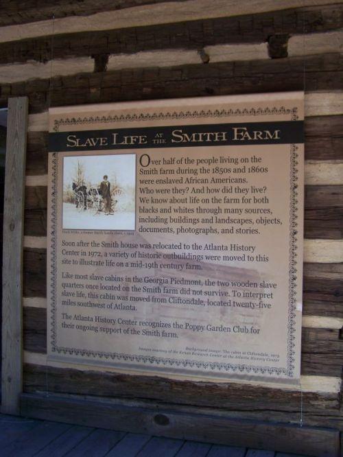 Auch hier gab es Sklaverei