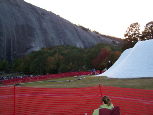 "Ein ""Snow Mountain"" neben dem ""Stone Mountain"" ..."