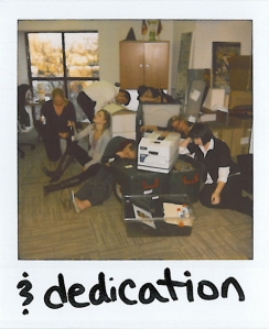 & dedication