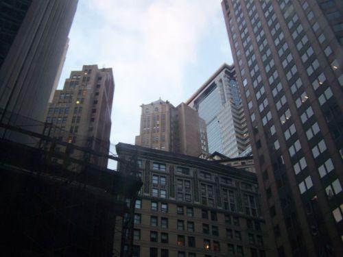 Die enge Bauweise in NYC