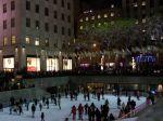 Die Eisbahn am Rockefeller Center