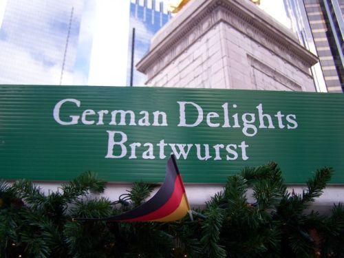 Deutsche Bratwurst für $5.50