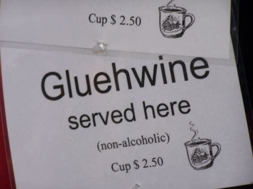 Wie, kein Alkohol???