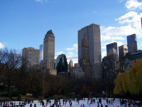 Schlittschulaufen im Central Park
