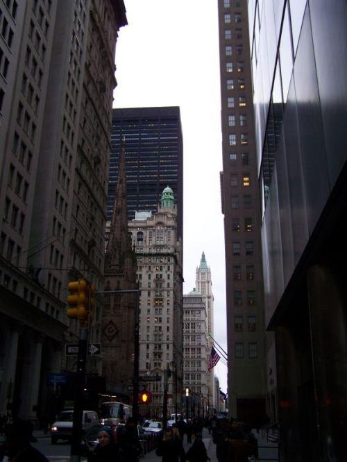 Blick nach Norden auf dem Broadway