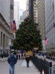 Weihnachtsbaum an der Börse