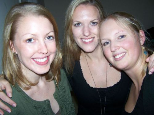 v.l.n.r.: Katie, Anita, ich
