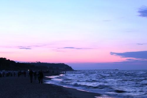Sonnenuntergang über Bansin